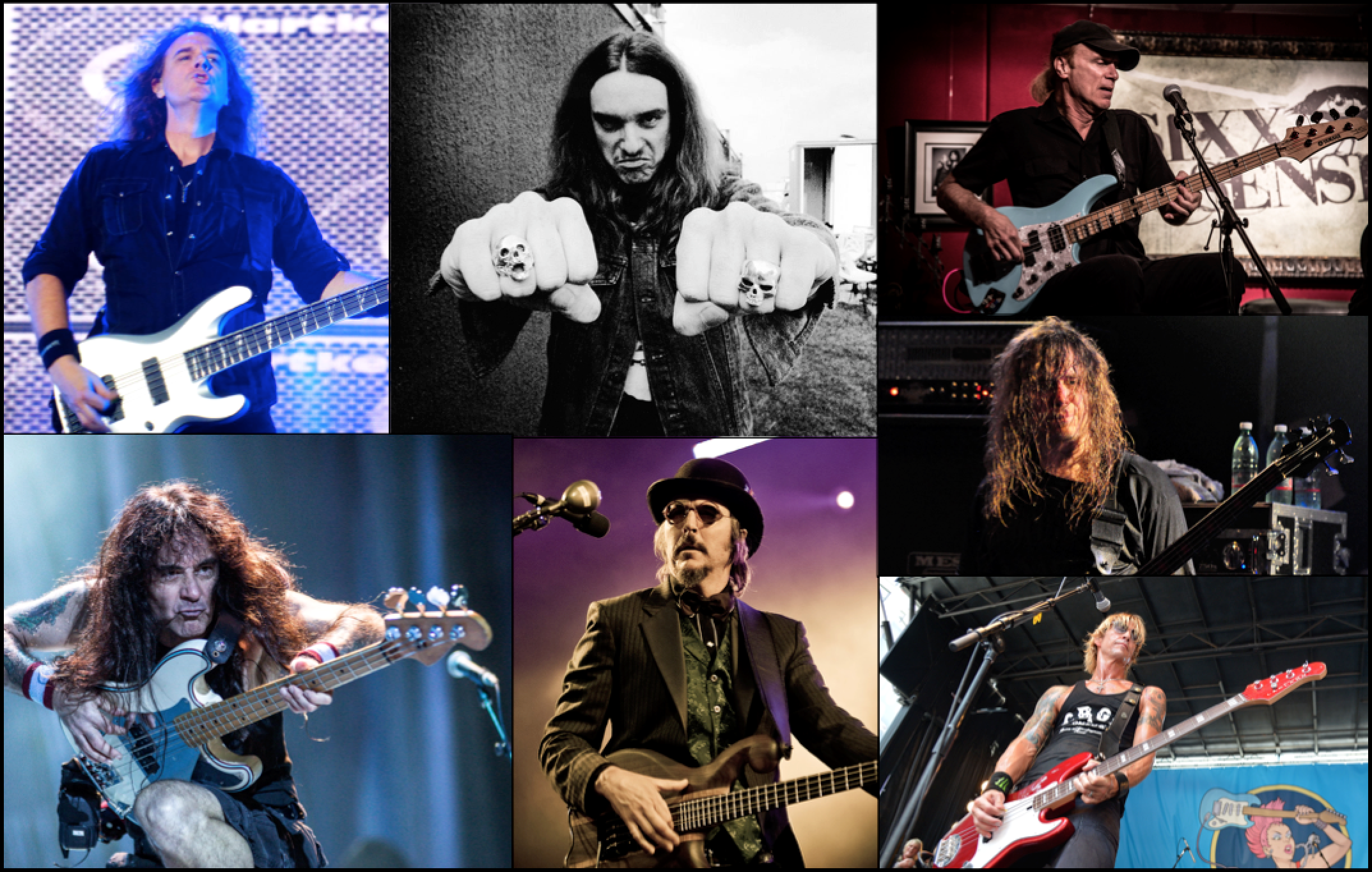 Image result for Bass player collage