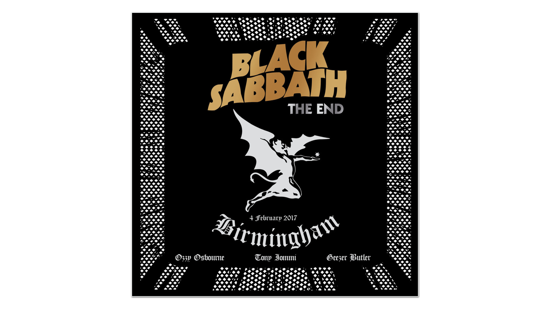 black sabbath closes its final chapter with the end live in birmingham 2017 albums that rock. Black Bedroom Furniture Sets. Home Design Ideas