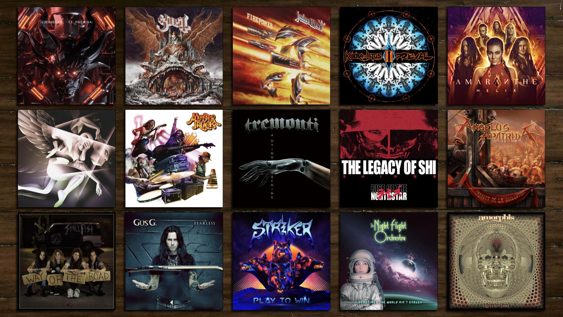 Best 2019 Metal Albums The 20 Best Hard Rock & Heavy Metal Studio Albums of 2018 – Albums